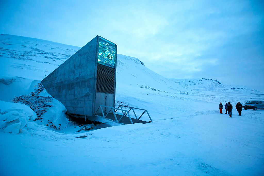 Svalbard Global Seed Vault (SGSV), outside Longyearbyen on Spitsbergen,