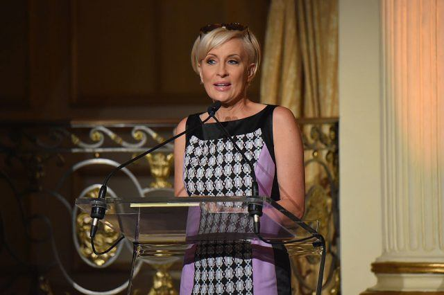 Television host Mika Brzezinski speaks onstage at the 5th Annual Elly Awards