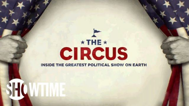 'The Circus' showtime promo image.