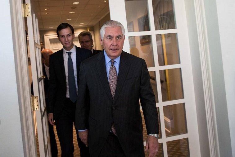 Tillerson and Kushner