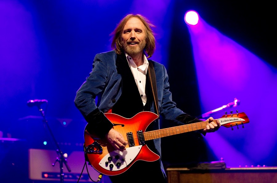 Tom Petty with Guitar