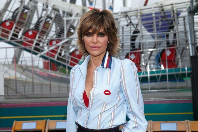 Actress Lisa Rinna at the TommyLand Tommy Hilfiger Spring 2017 Fashion Show
