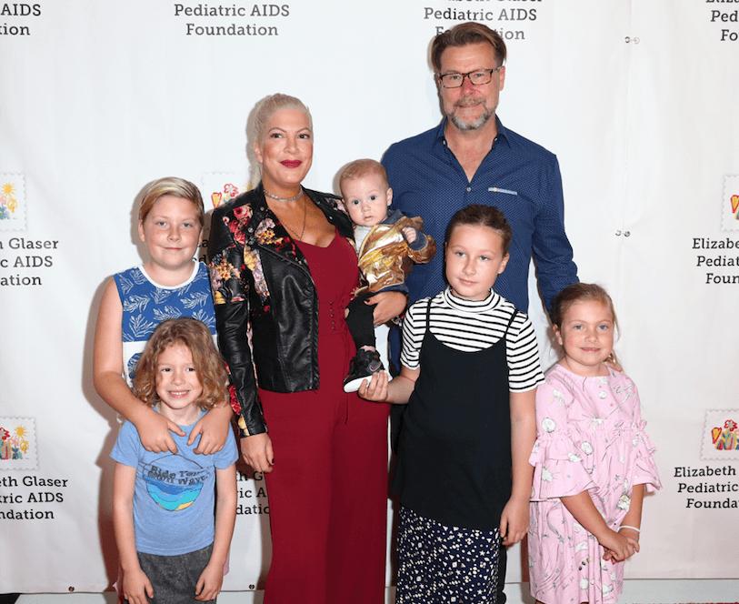 Tori Spelling's family