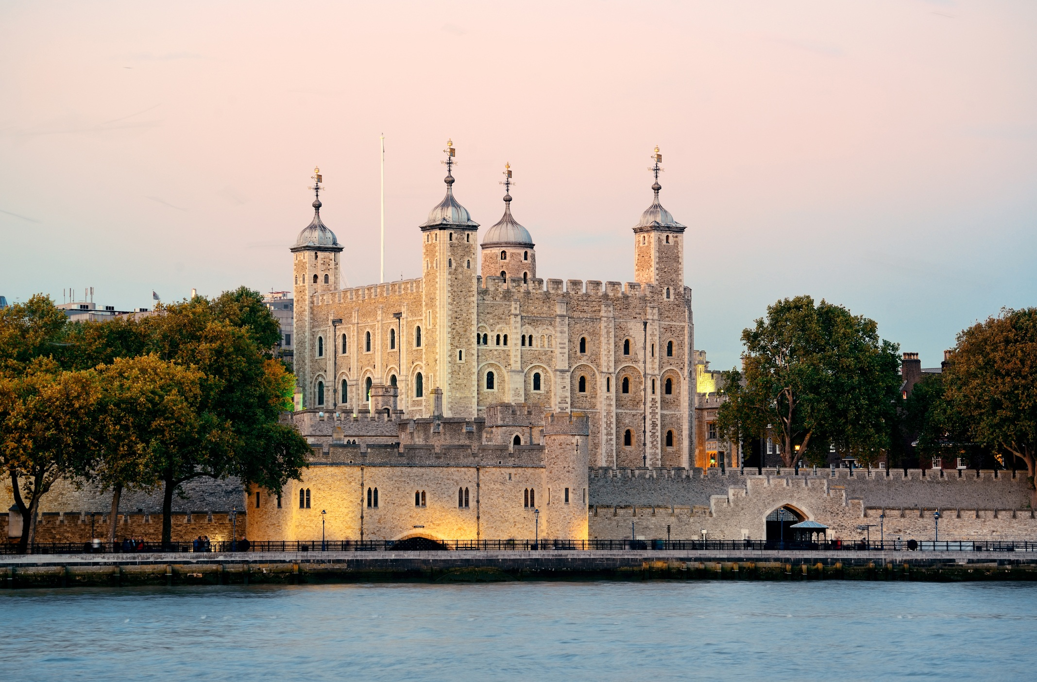 Tower of London during sunset