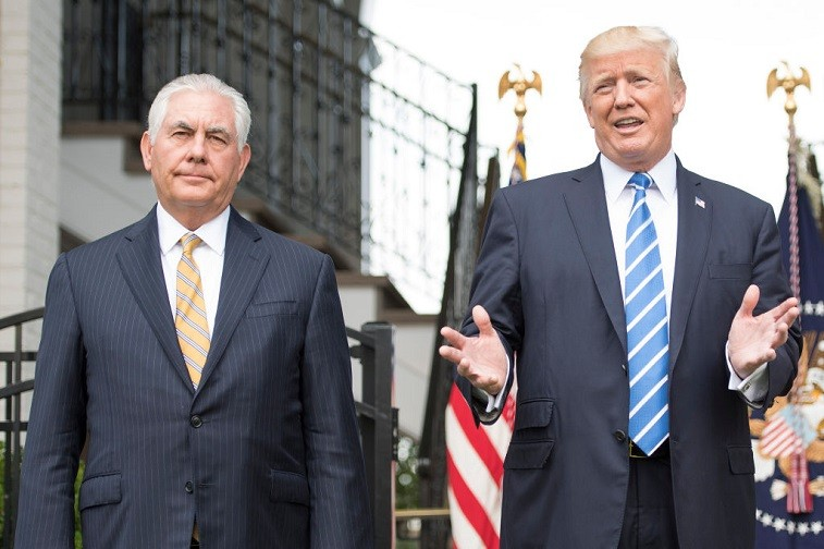 Trump and Tillerson
