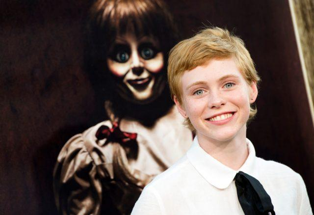 Actress Sophia Lillis attends the premiere of 'Annabelle: Creation'