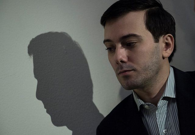 Entrepreneur and pharmaceutical executive Martin Shkreli leaves after invoking his Fifth Amendment rights