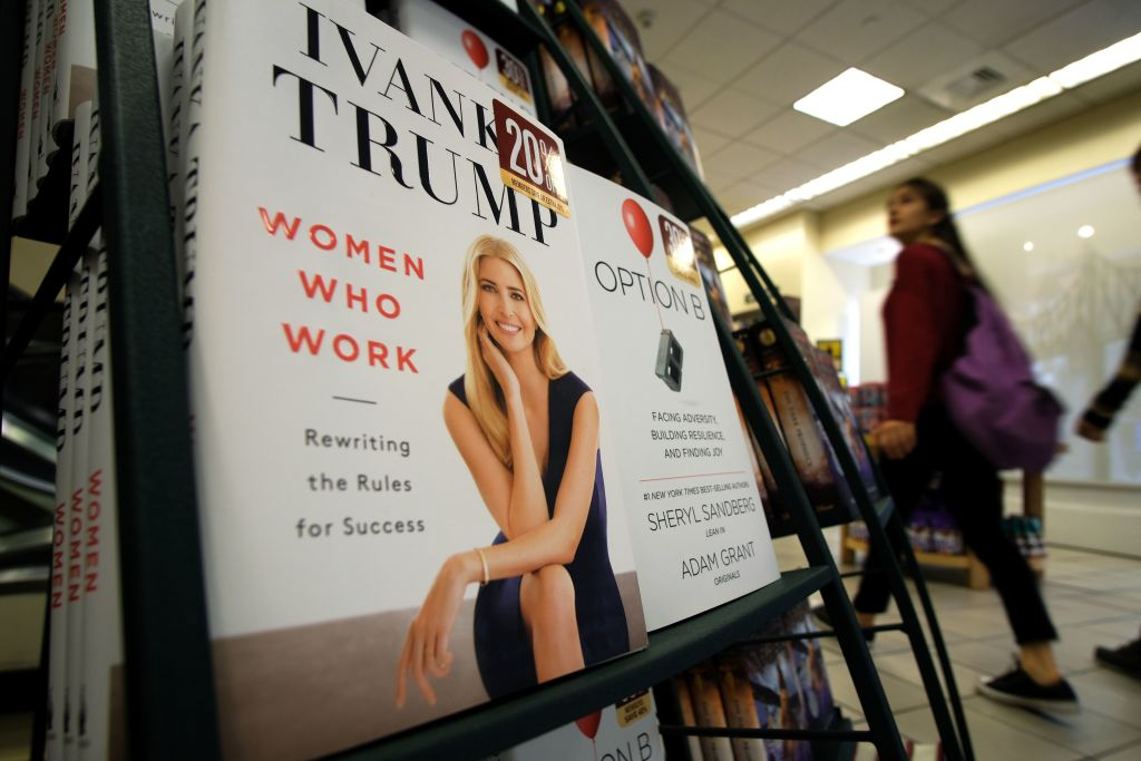 Ivanka Trump revived ethics concerns by publishing a self-help book for working women