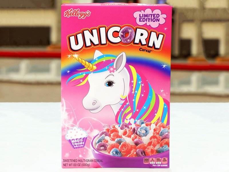 Unicorn Cereal Kelloggs