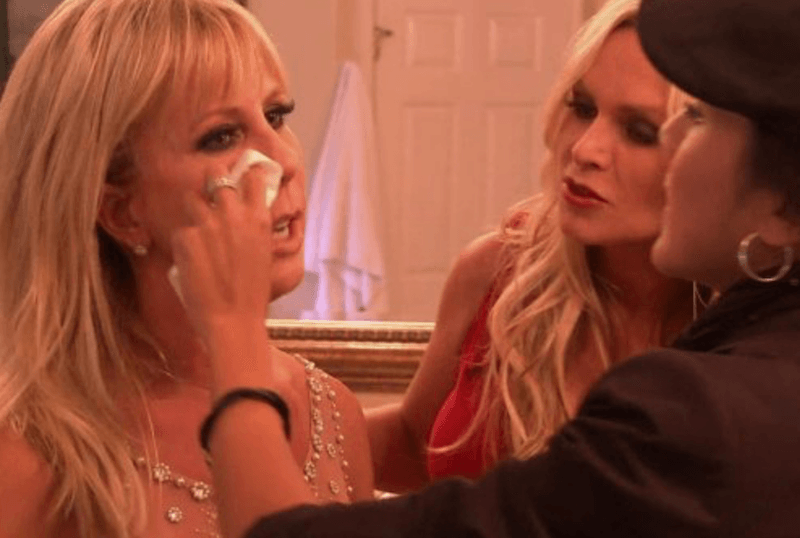 Vicki Gunvalson and Tamra Judge