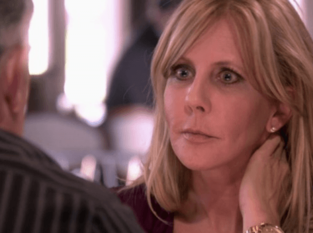 Vicki looks angry and hurt in RHOC.