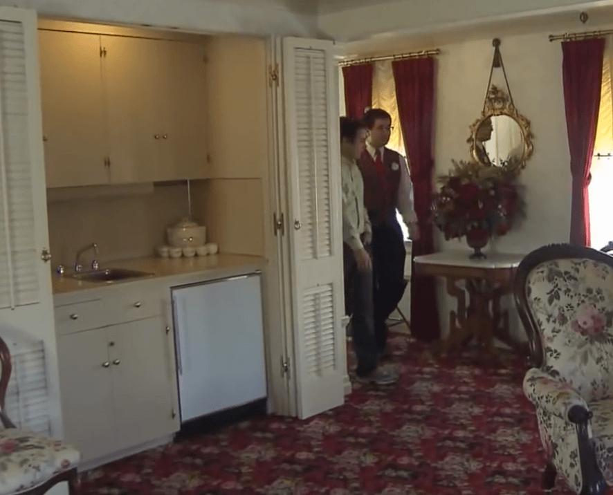 Walt Disney apartment kitchen