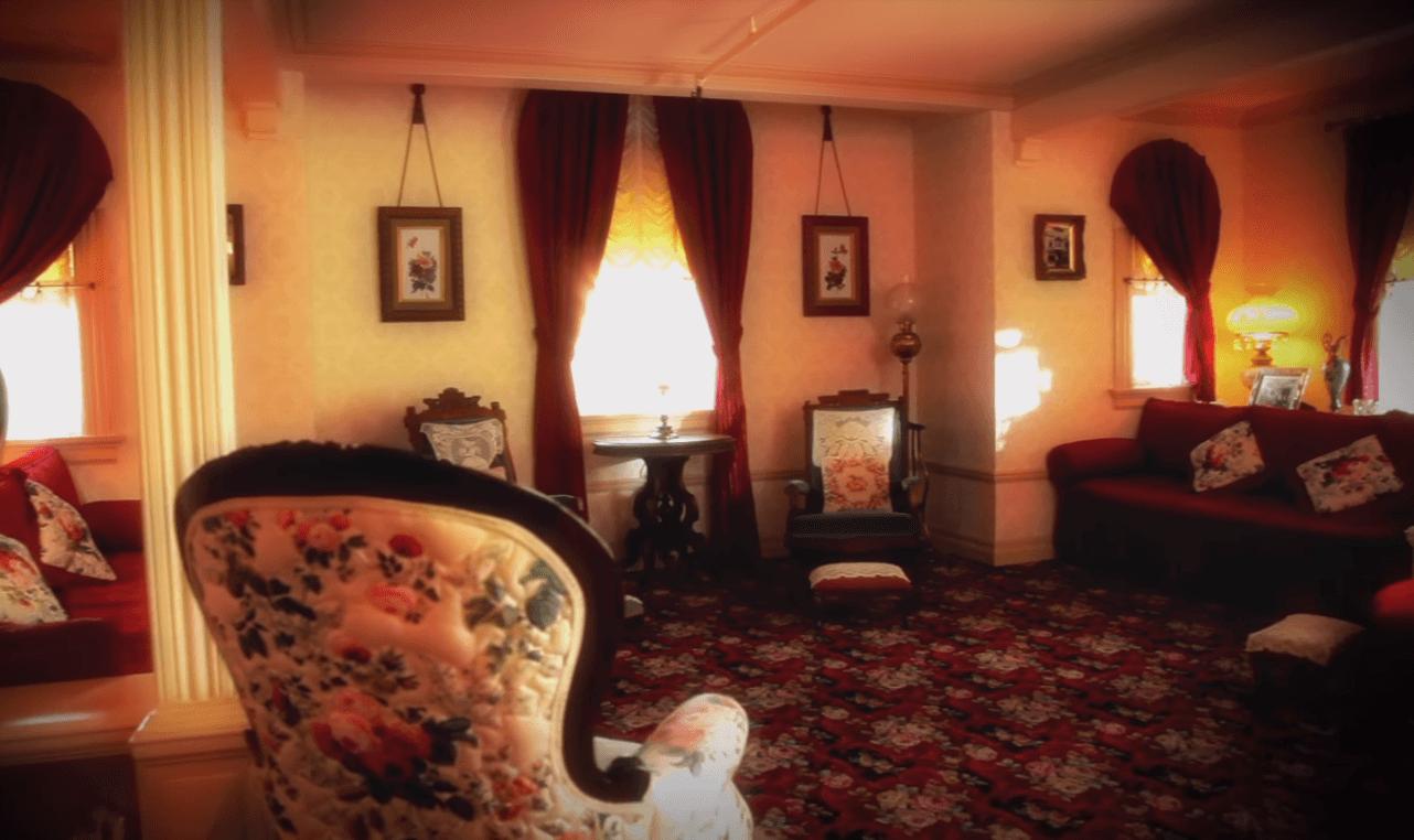 Walt Disney apartment living room