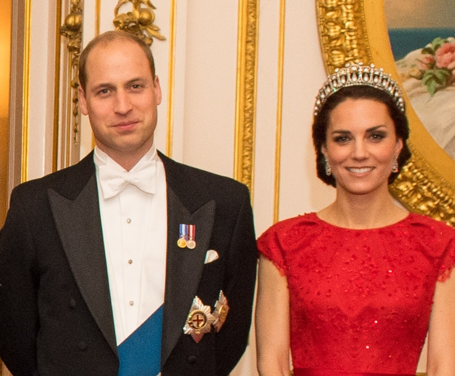 The Annual Diplomatic Corps Reception At Buckingham Palace William and Kate