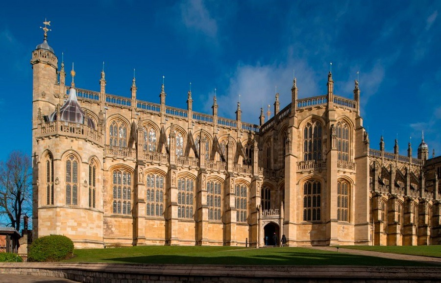 George's Chapel at Windsor Castle