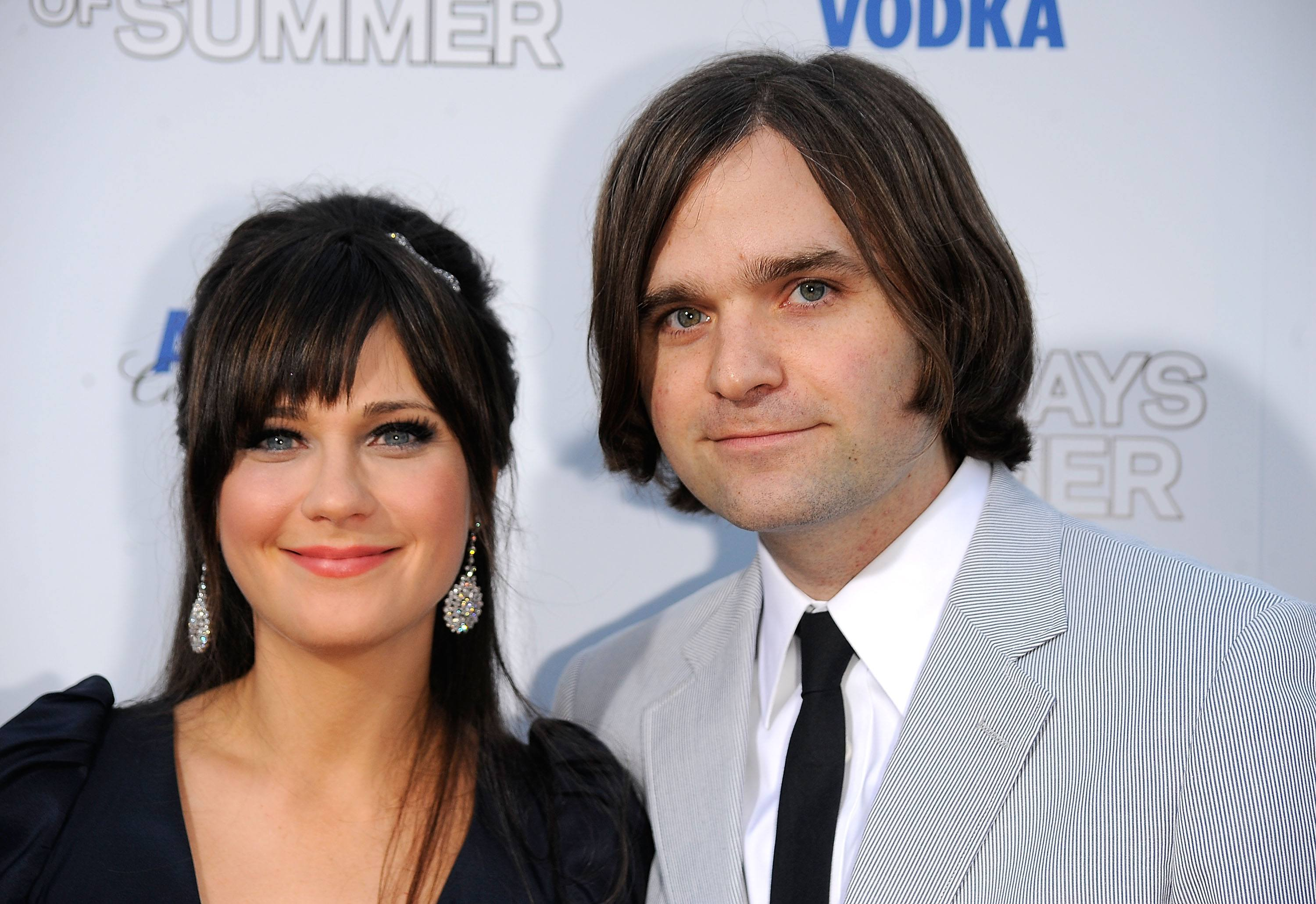 Zooey Deschanel and Benjamin Gibbard