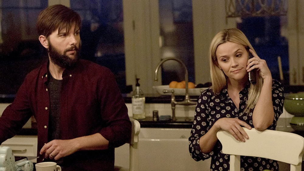 Adam Scott and Reese Witherspoon in Big Little Lies