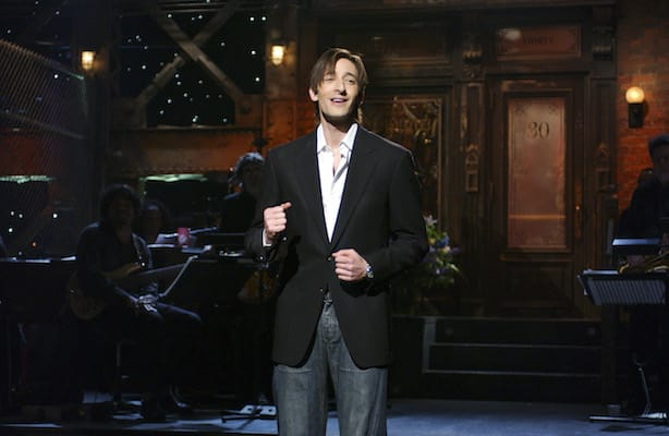 Adrien Brody on Saturday Night Live