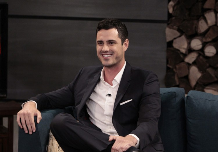 Chris Harrison interviews Ben Higgins.