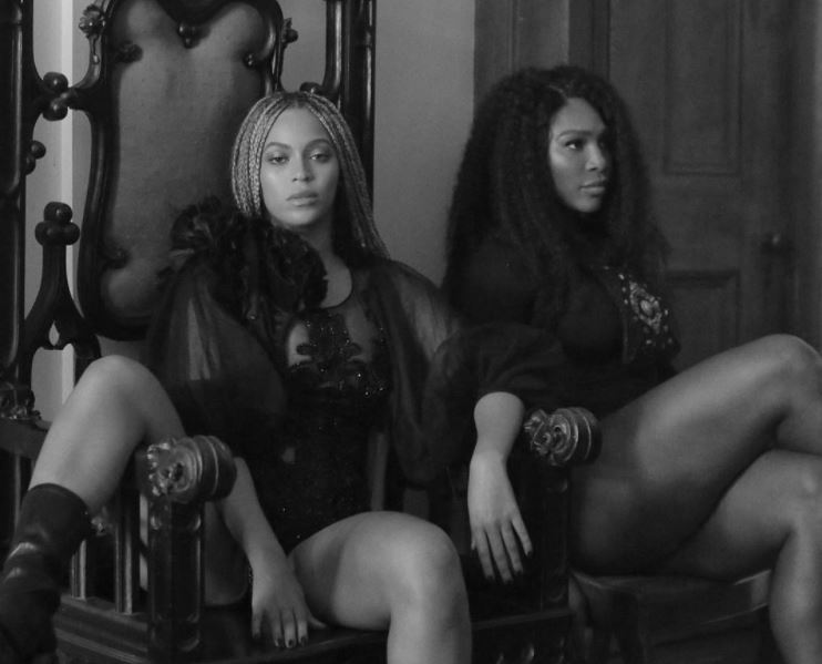 Beyoncé and Serena Williams in Lemonade