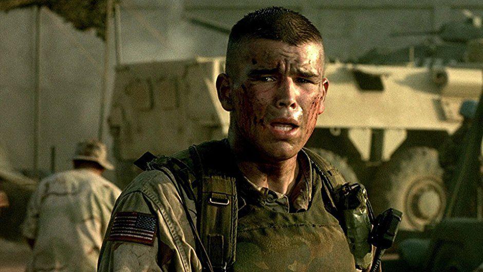 Josh Hartnett in Black Hawk Down