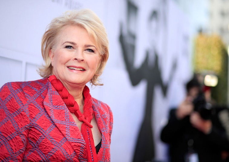 Actor Candice Bergen arrives at American Film Institute's 45th Life Achievement Award Gala Tribute to Diane Keaton.