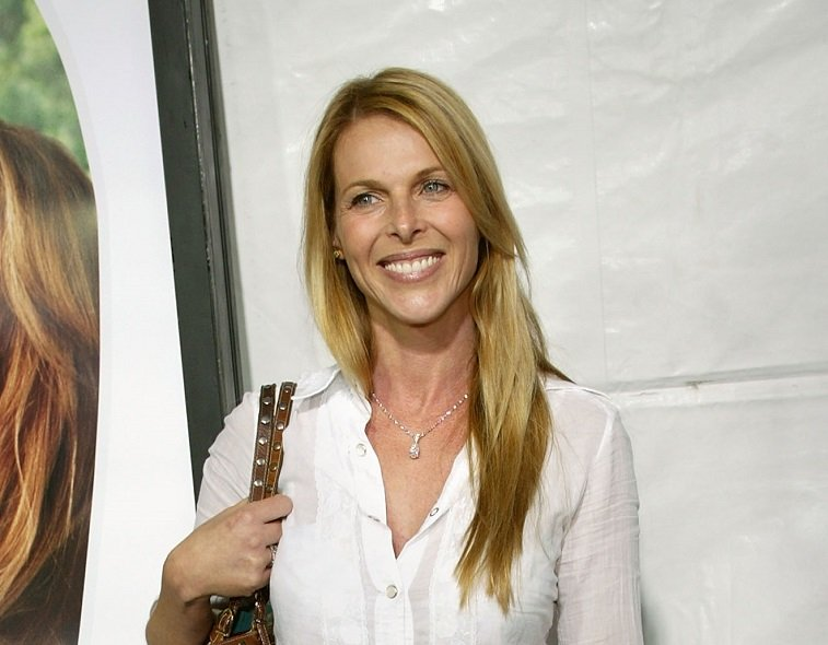 "Actress Catherine Oxenberg arrives at New Line Cinema's Premiere of ""Monster In Law"" at the Mann National Theatre on April 29, 2005 in Westwood, California."