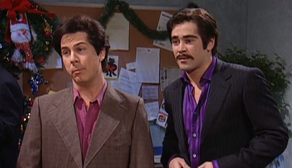 Chris Parnell and Colin Farrell on Saturday Night Live