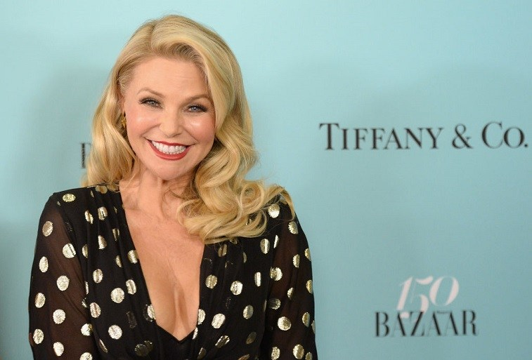 Model Christie Brinkley attends Harper's BAZAAR 150th Anniversary Event presented with Tiffany & Co at The Rainbow Room on April 19, 2017 in New York City.
