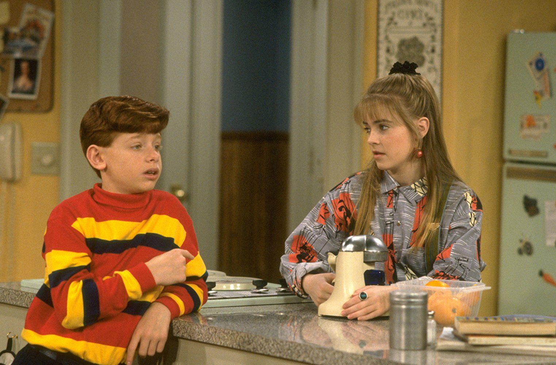 Jason Zimbler and Melissa Joan Hart in Clarissa Explains It All