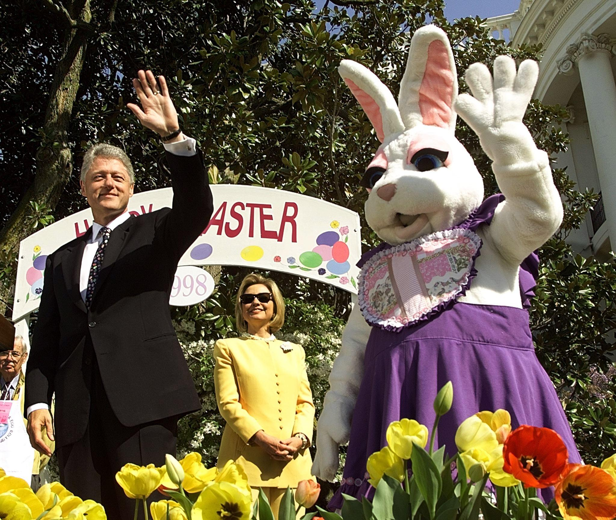 Clinton Easter Egg Roll