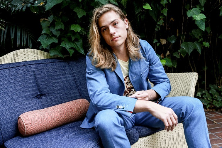Actor Dylan Sprouse attends the 'Carte Blanche' cast dinner and reception at the Chateau Marmont on August 2, 2017 in West Hollywood, California.