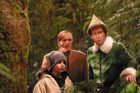 James Caan, Will Ferrell, and Daniel Tay in Elf