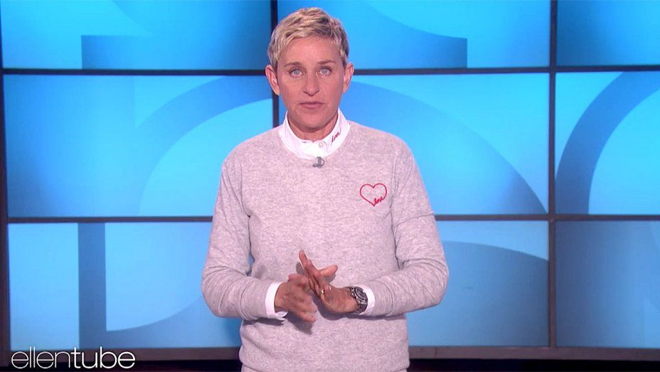 Ellen DeGeneres speaks about the shooting in Las Vegas