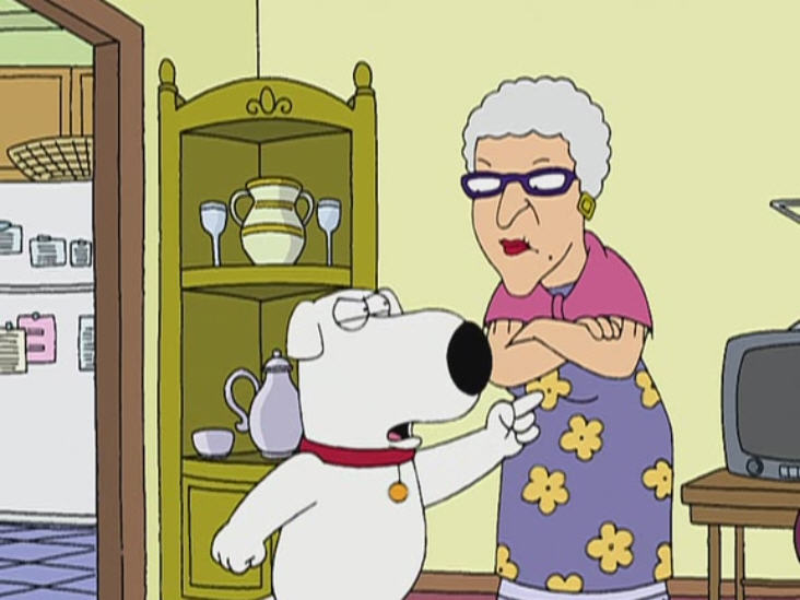"""Family Guy """"Brian Wallows and Peter's Swallows"""""""