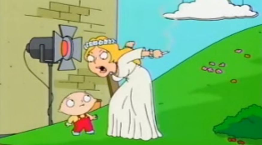 """Family Guy """"Road to Europe"""""""