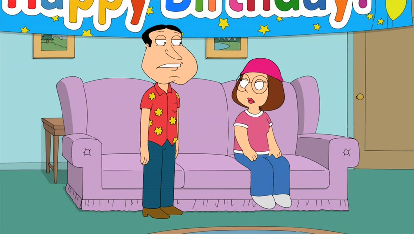 "Family Guy ""Quagmire & Meg"""