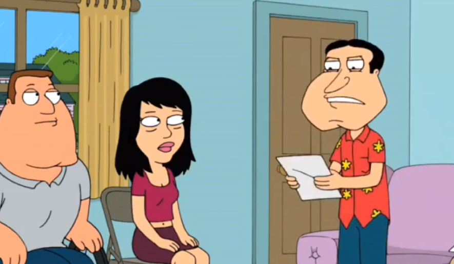 Lois griffin cheating family guy