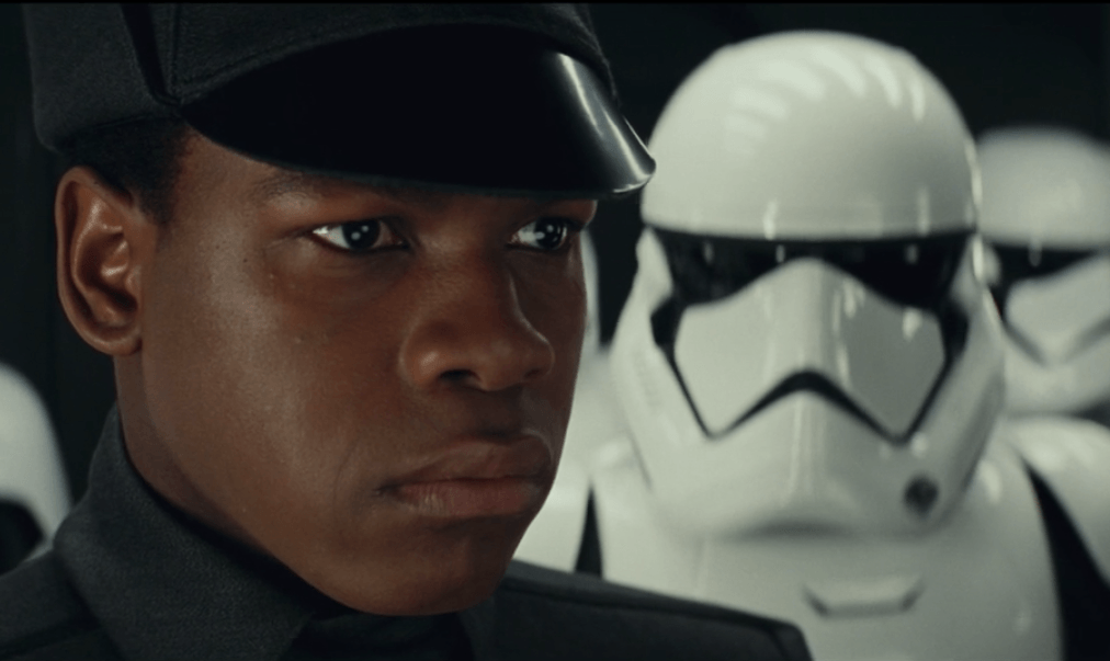 An old friend recognizes Finn in a deleted scene from The Last Jedi