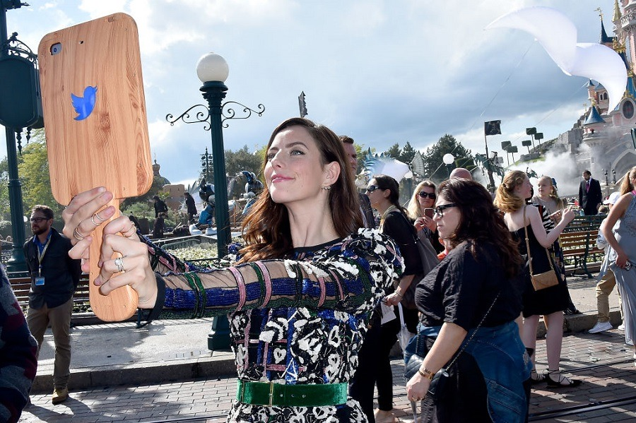 Kaya Scodelario at Disneyland Paris