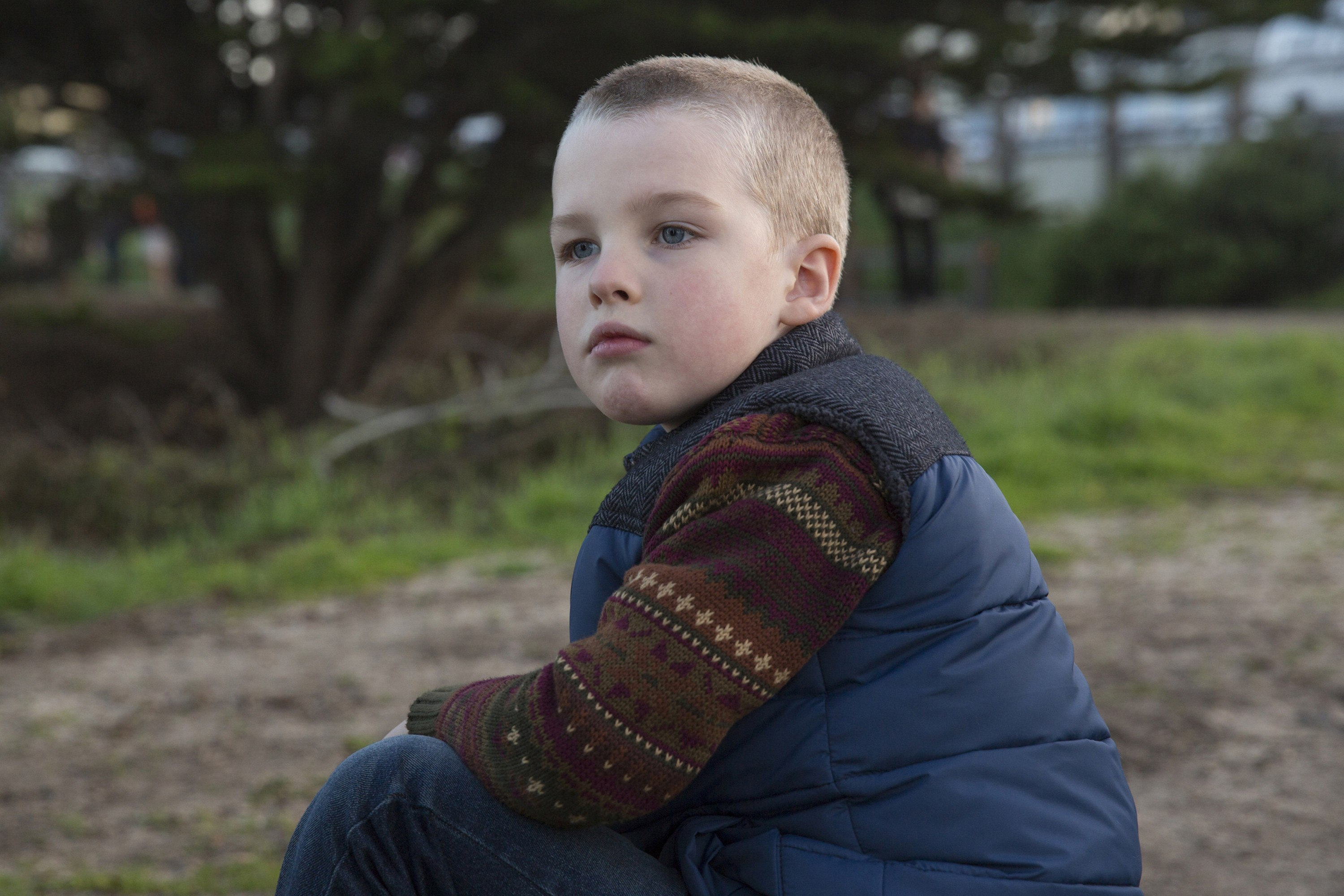 Iain Armitage as Ziggy on Big Little Lies