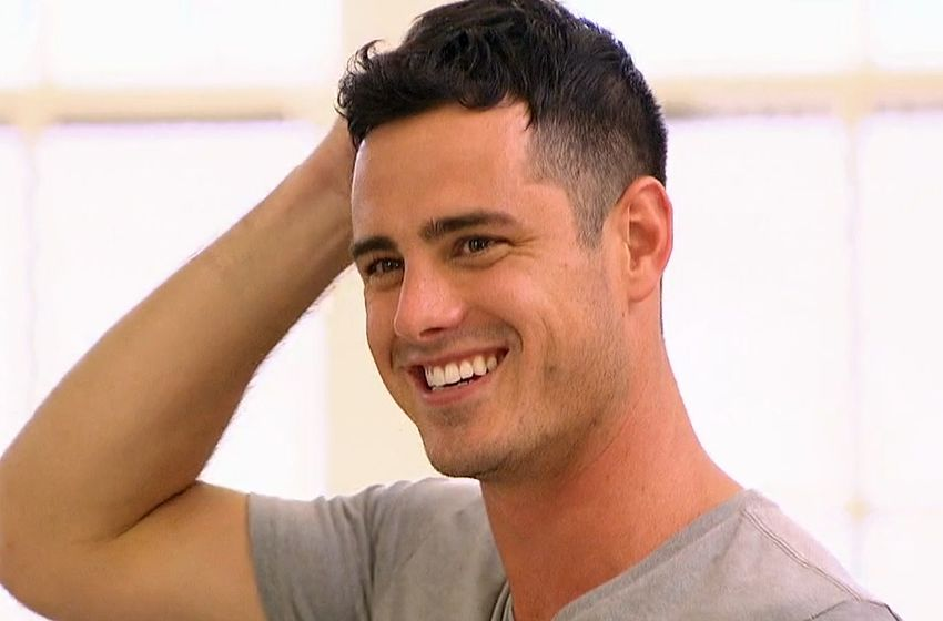 Ben Higgins smiles