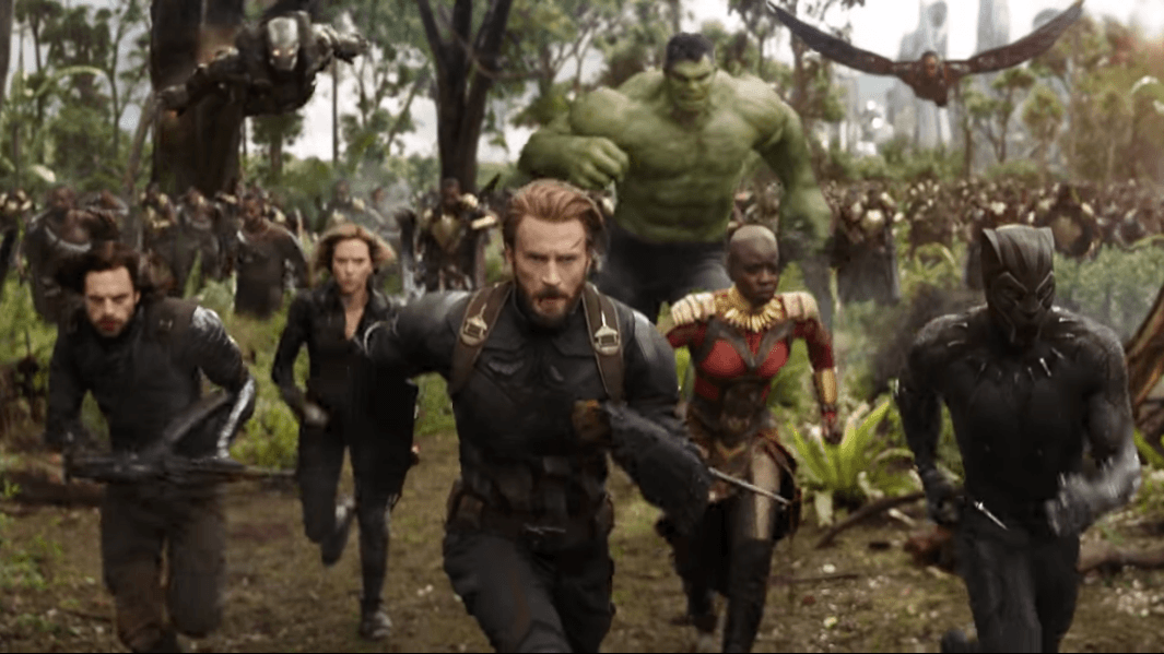 Steve Rogers heads into battle in Avengers: Infinity War