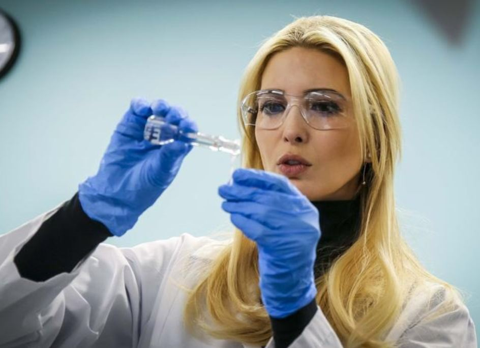 Ivanka Trump as a scientist
