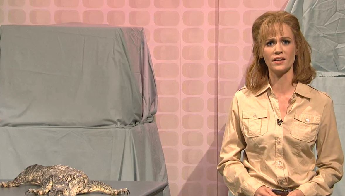 January Jones on Saturday Night Live