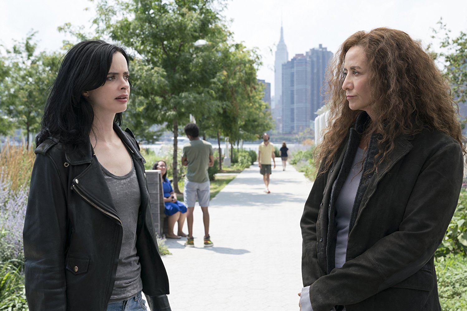 Janet McTeer's unnamed villain on Jessica Jones Season 2