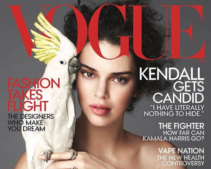 Kendall Jenner's Vogue cover