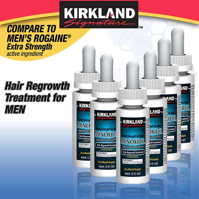 Kirkland Hair Regrowth for Men