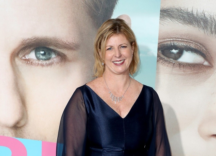 """Author Liane Moriarty attends the premiere of HBO's """"Big Little Lies"""" at TCL Chinese Theatre on February 7, 2017 in Hollywood, California."""