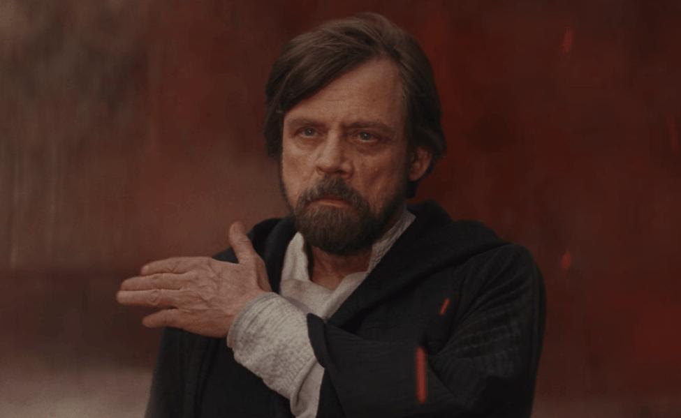 Luke mocks Kylo Ren on Crait